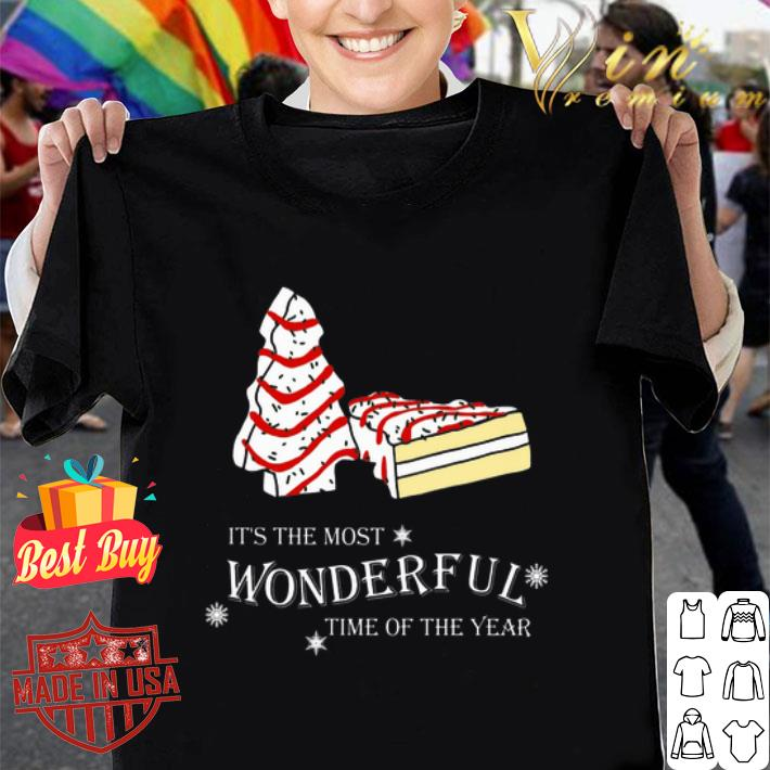 Christmas cake It's the most wonderful time of the year shirt