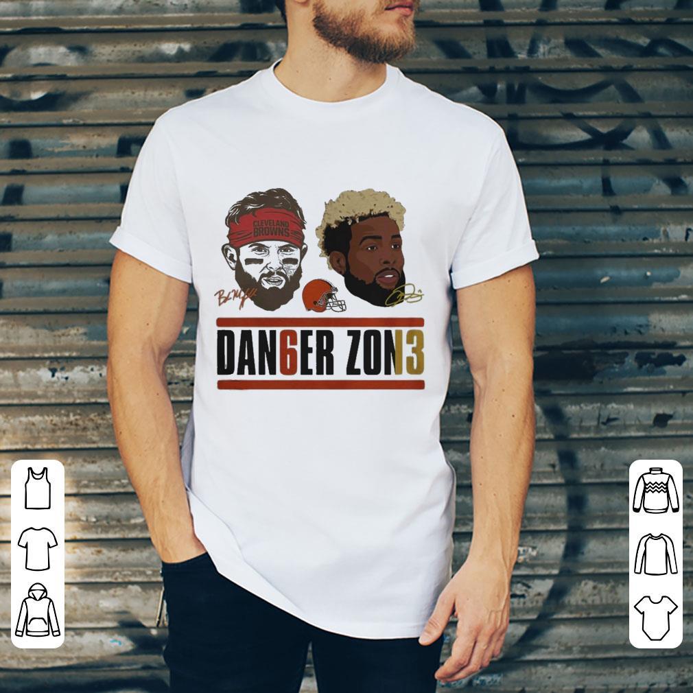 info for d390a 9d20f Cleveland Browns Baker Mayfield And Odell Beckham Jr Dan6er shirt