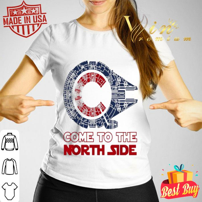 Come To The North Side Star Wars Chicago Cubs Millennium