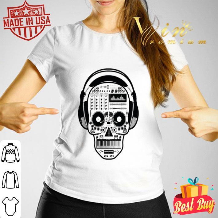 DJ Sugar Skull shirt
