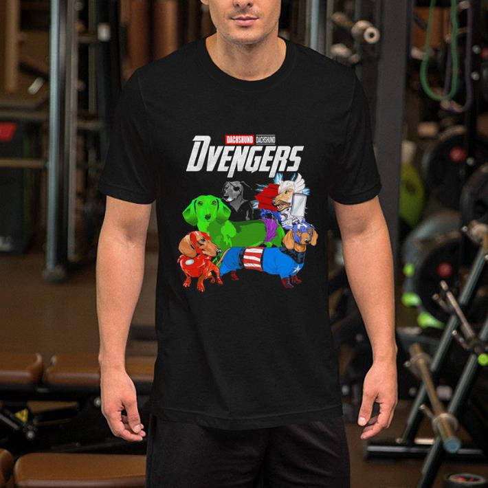 Dachshund Dvengers Marvel Avengers Endgame shirt 2