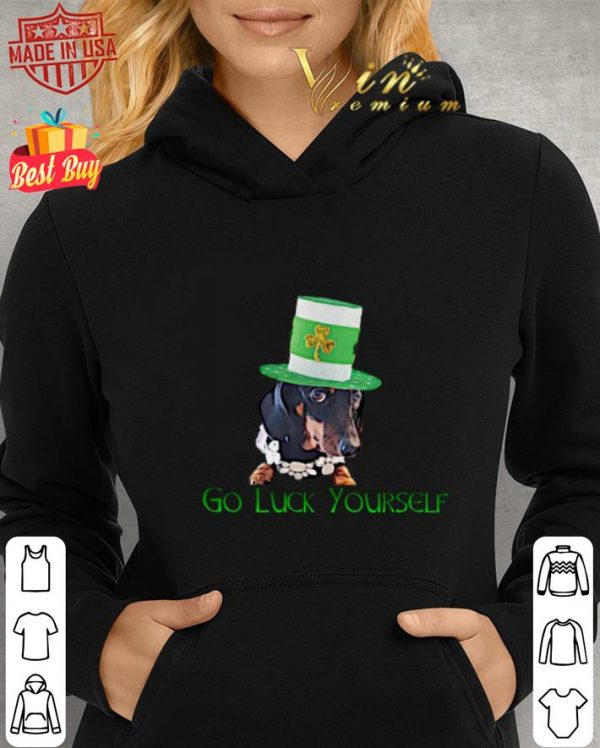 Dachshund Go Luck yourself St Patrick's day shirt