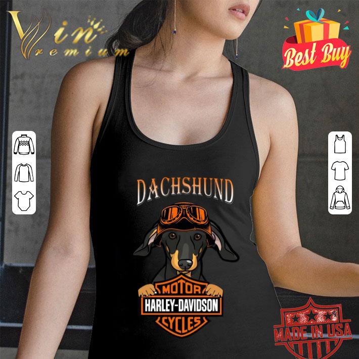 Dachshund Motor Harley-Davidson Cycles shirt