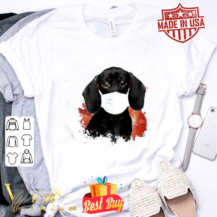 Dachshund Wear Mask Coronavirus shirt