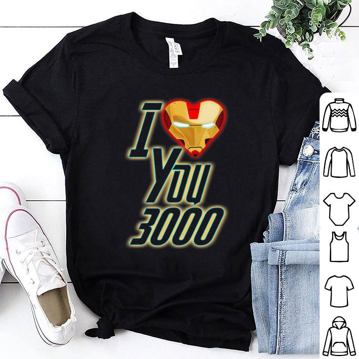 Dad and Daughter Iron Man I Love You 3000 three thousand shirt