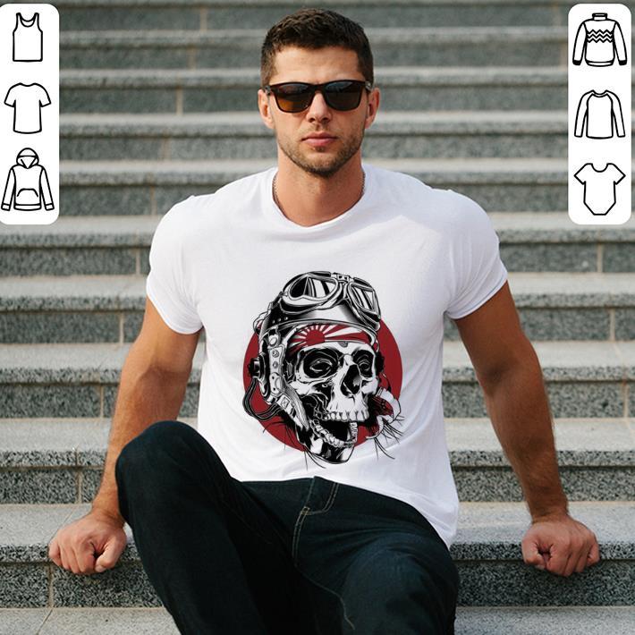 Dead Kamikaze Skull shirt