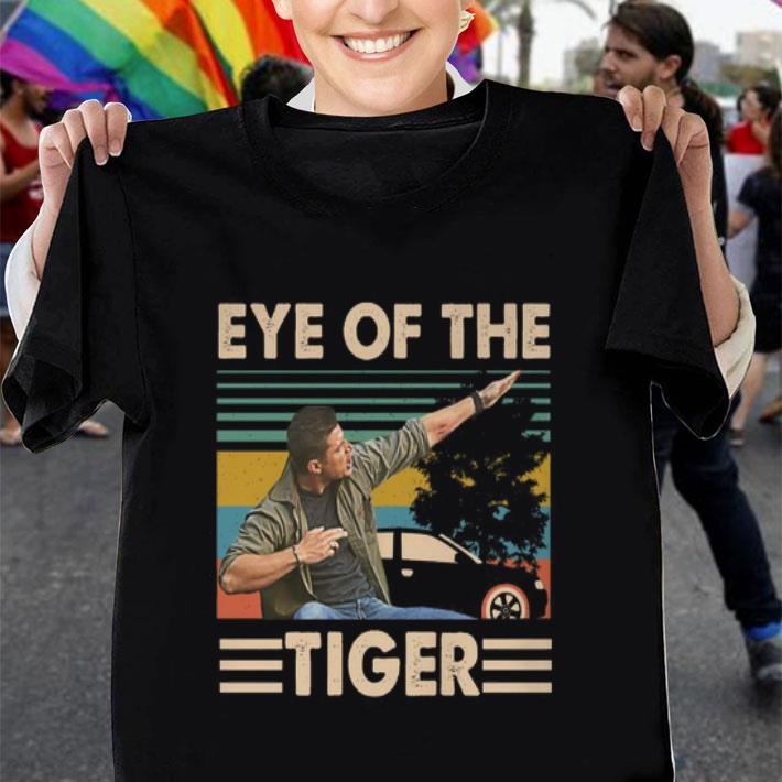 Dean Winchester Eye of the tiger vintage Supernatural shirt