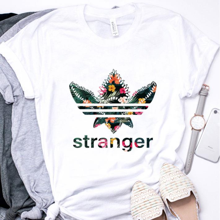 adidas shirt flower