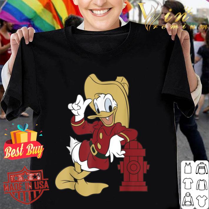 Disney Donald Duck Firefighter Outfit shirt