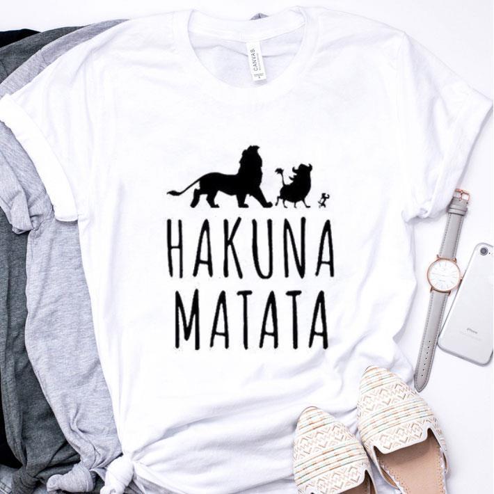 Disney Hakuna Matata Lion King shirt