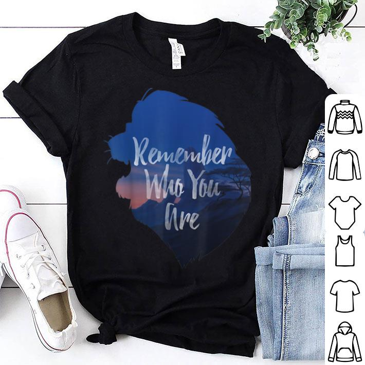 Disney Lion King Simba Remember Who You Are shirt