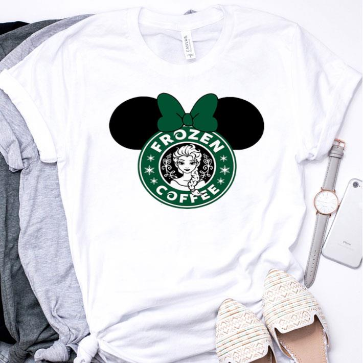 Disney Minnie Mouse Starbuck Frozen Coffee shirt