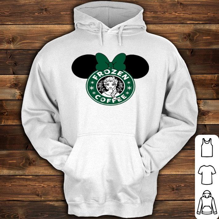 Disney Minnie Mouse Starbuck Frozen Coffee shirt