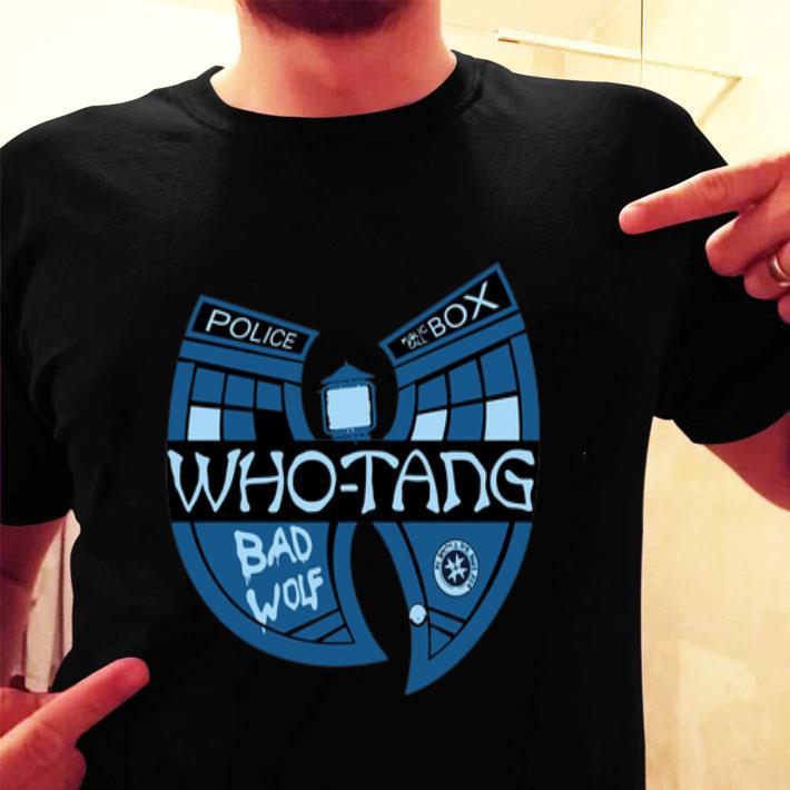 Doctor Who-Tang Bad Wolf Wu-Tang Clan shirt
