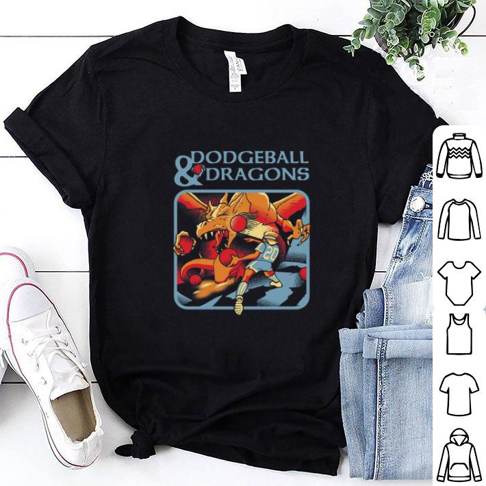 Dodgeball & dragons Dungeons & Dragons shirt 1