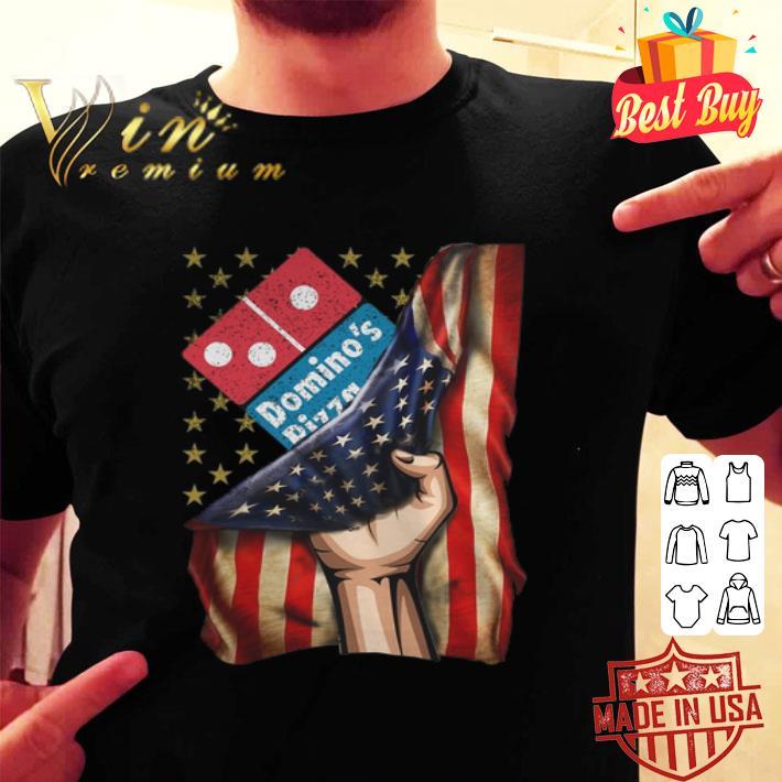 Domino's Pizza American Flag shirt