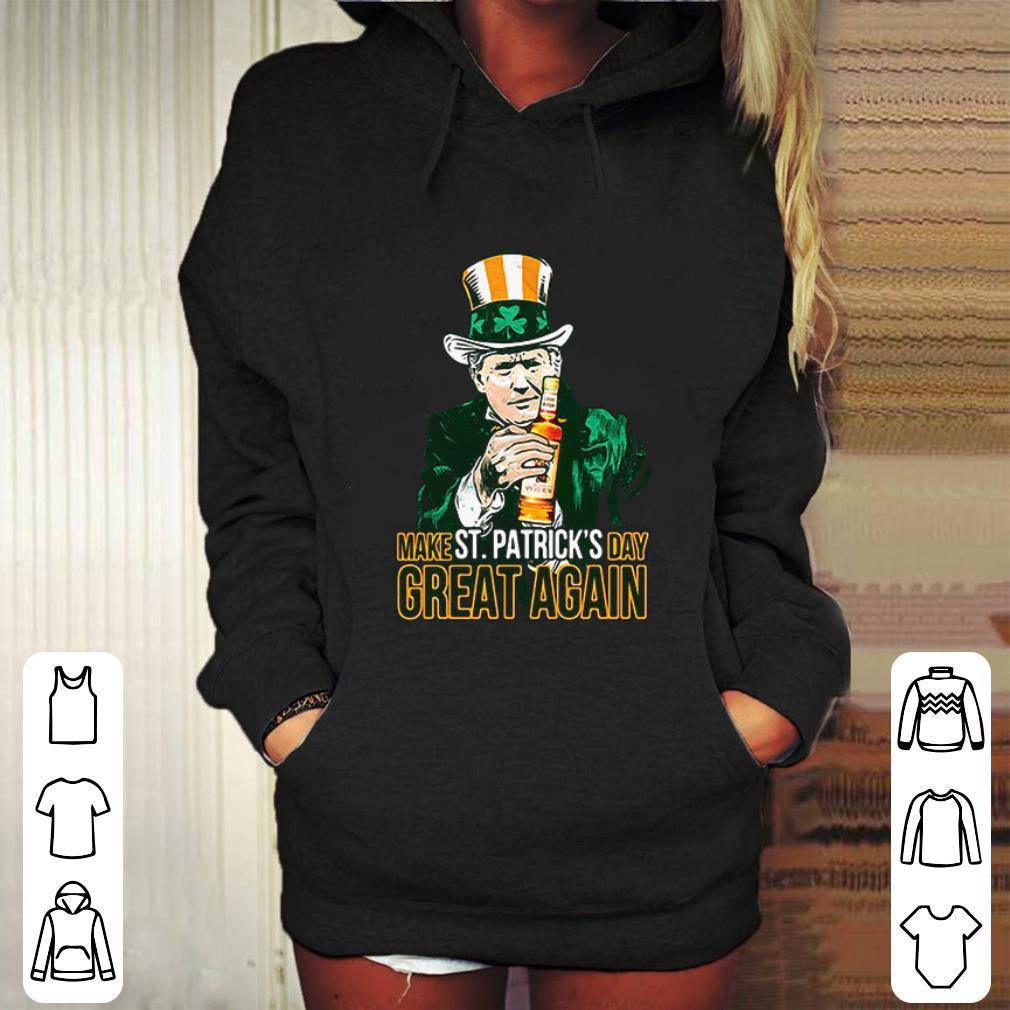 Donald Trump and Captain Morgan make St Patricks day great again shirt