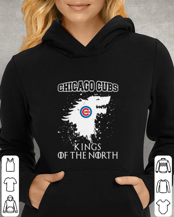Dragon Chicago Cubs King of the North Game of Throne GOT shirt 3