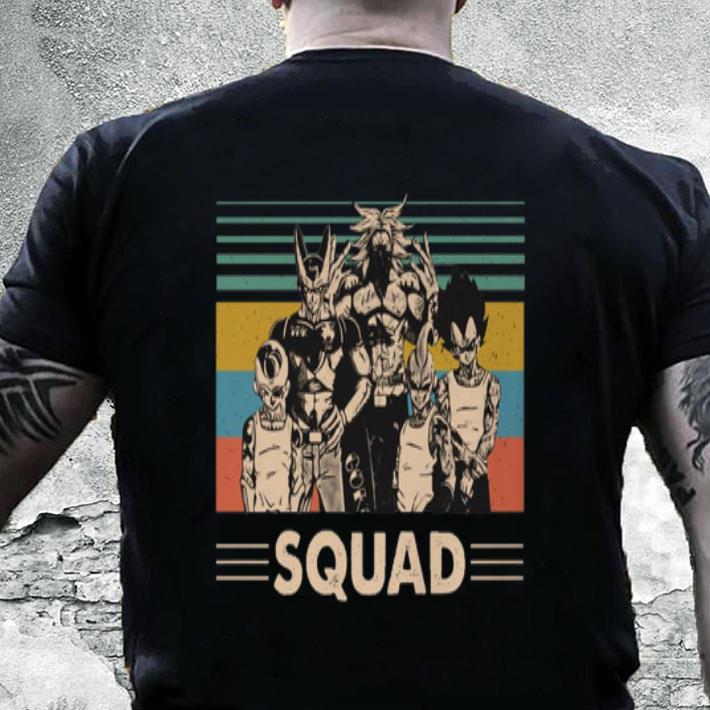 Dragonball z Squad vintage shirt
