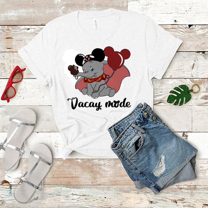 Dumbo Mickey Mouse cream Vacay mode shirt 1 1 -
