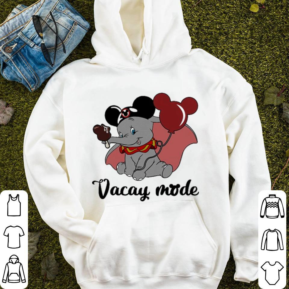 Dumbo Mickey Mouse cream Vacay mode shirt