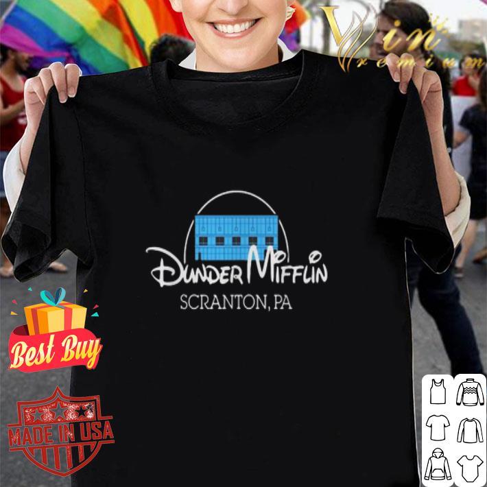 Dunder Mifflin Scranton PA Disney shirt