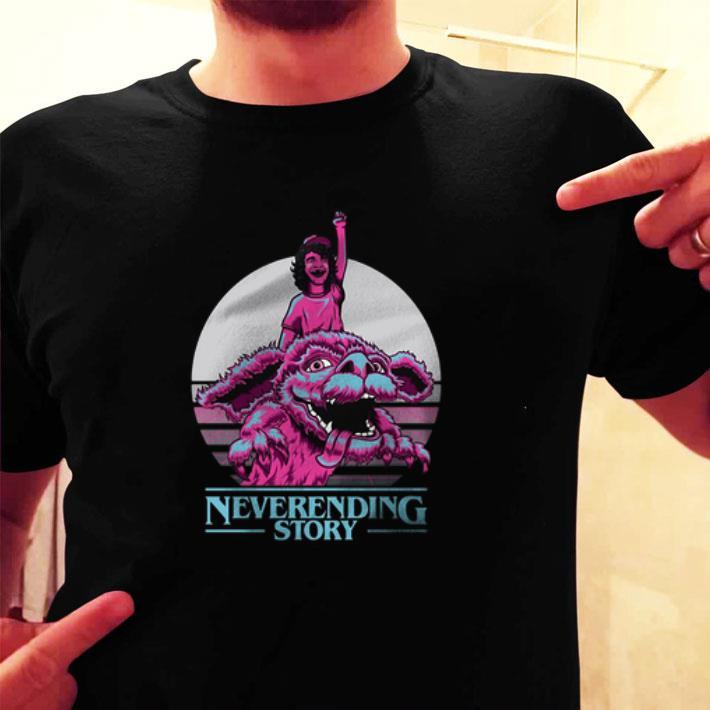 Dustin Henderson Neverending Story Stranger Things 3 shirt