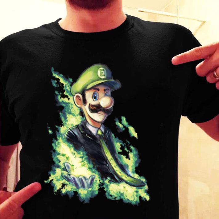 Elegant Luigi Super Smash Bros. Ultimate Shirt, Hoodie