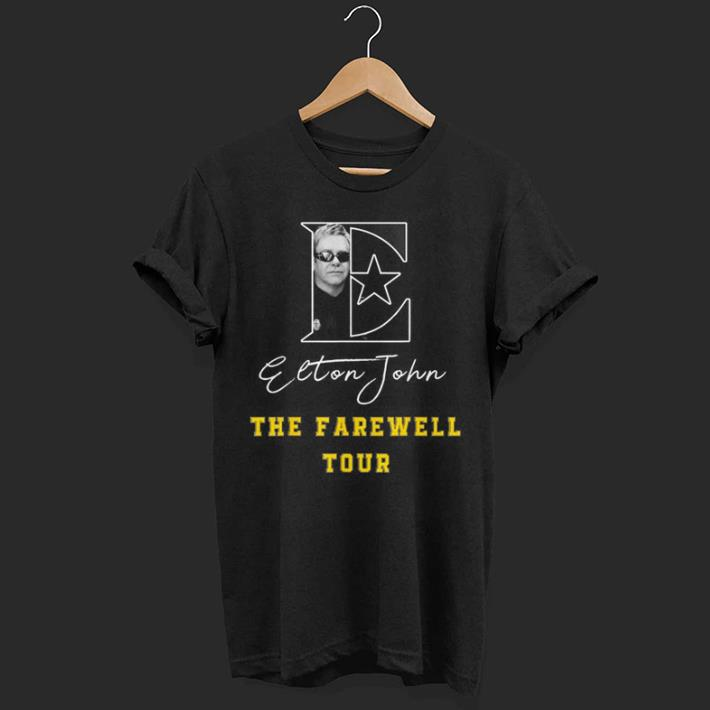 Elton John The Farewell Tour shirt
