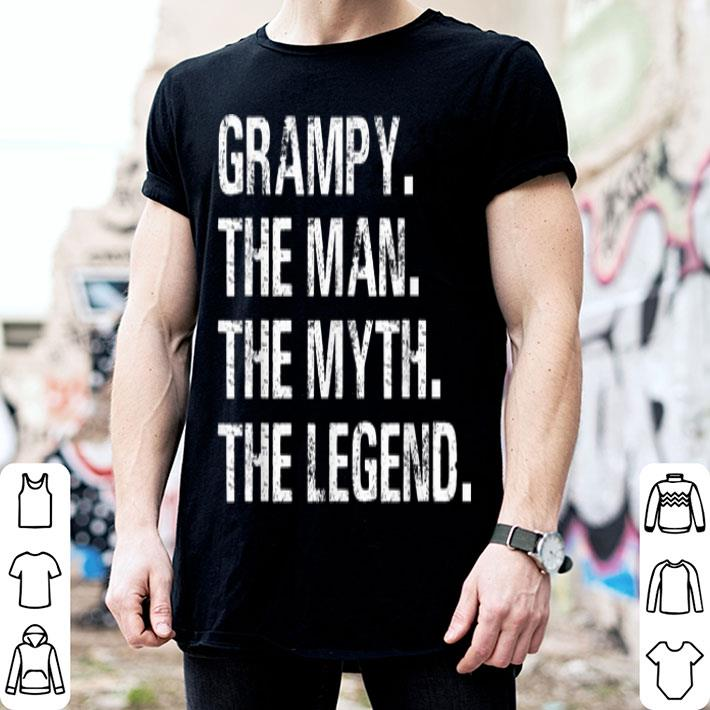 Father Day Grampy The Man The Myth The Legend shirt
