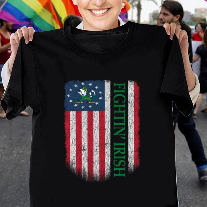 Fightin' Irish Betsy Ross flag shirt