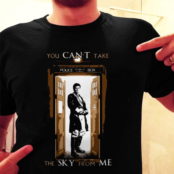 Firefly you can't take police public call box the sky from me shirt