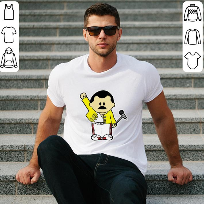 Freddie Mercury Queen Inspired Cartoon Adults shirt 2