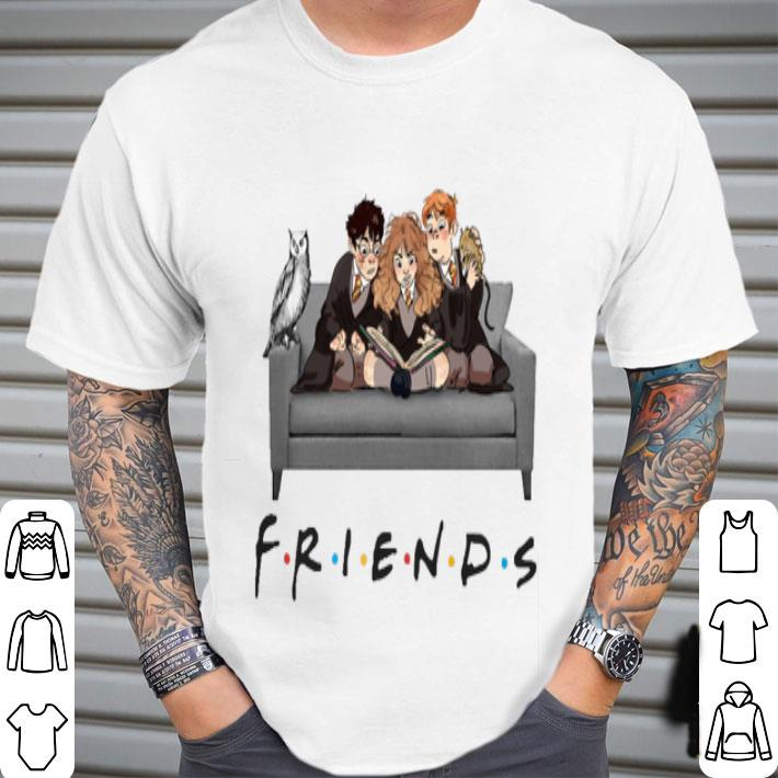 Friends Harry Potter Ron And Hermione shirt