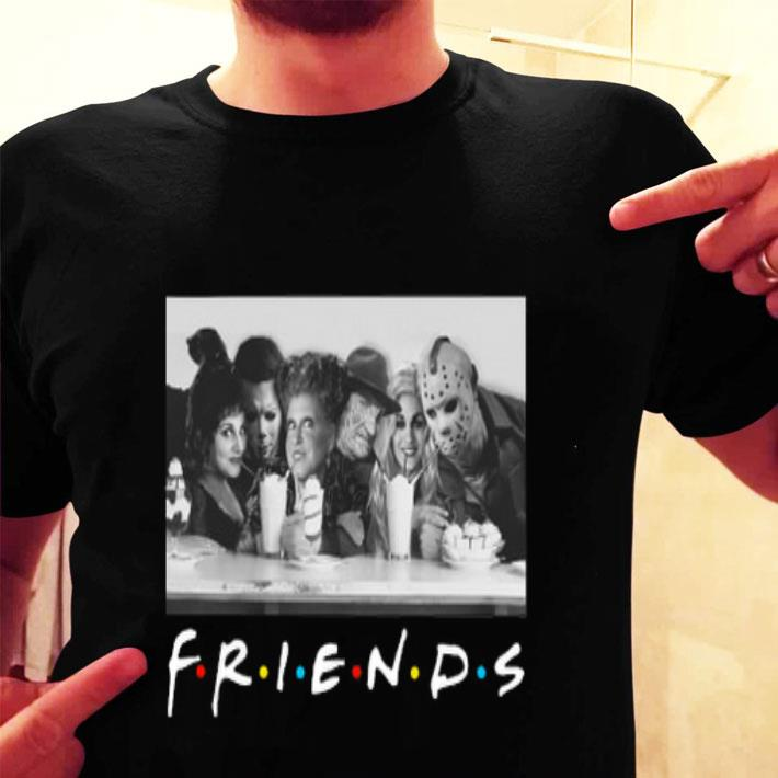 Friends Hocus Pocus Michael Myers Freddy Krueger Jason Voorhees shirt