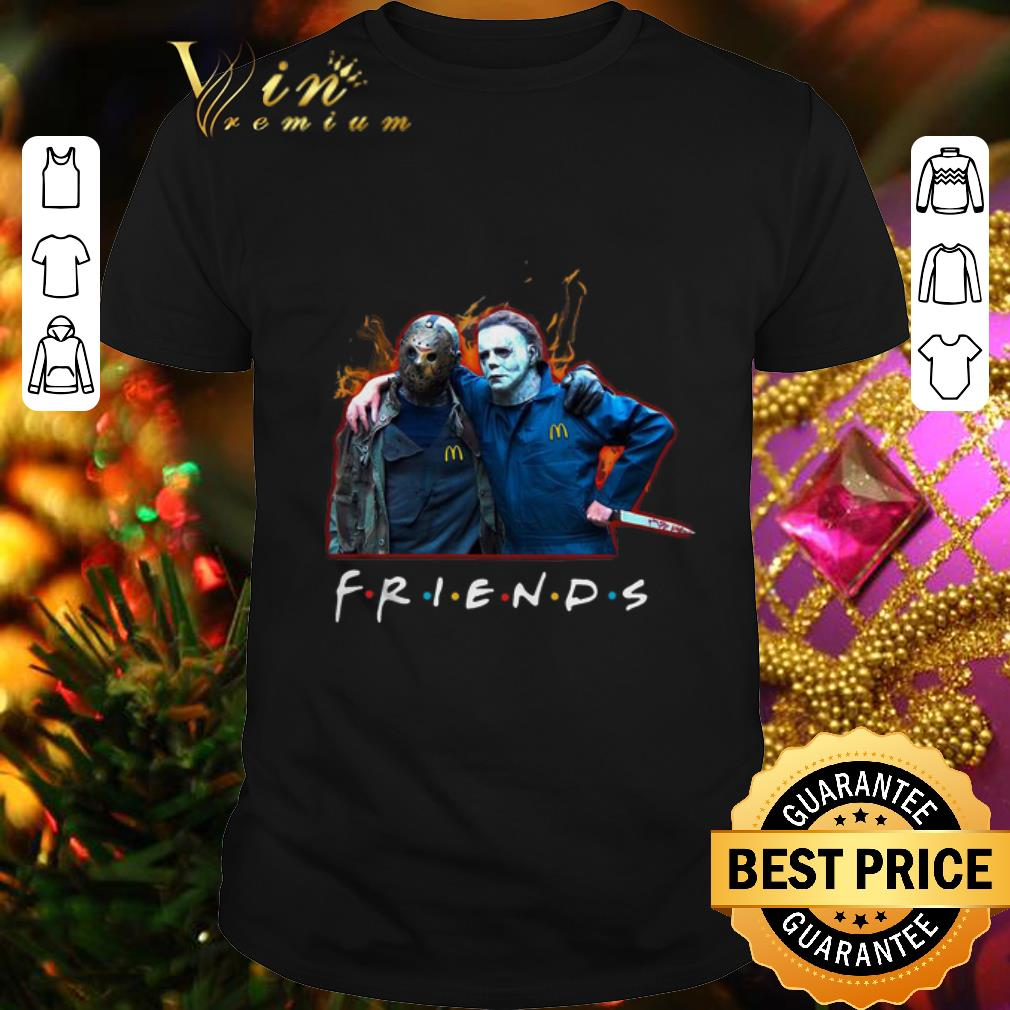 Friends Jason Voorhees Michael Myers shirt