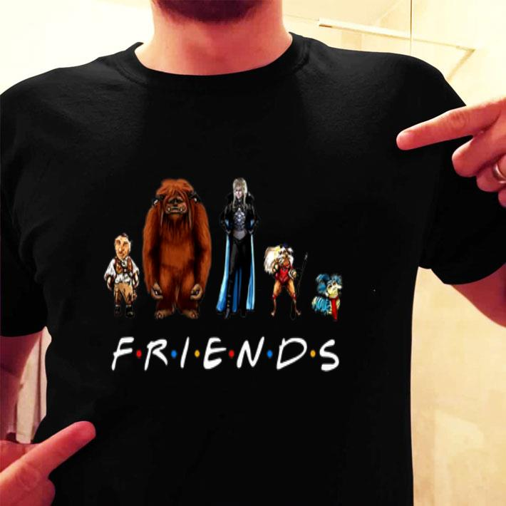 Friends Labyrinth Characters Jareth shirt