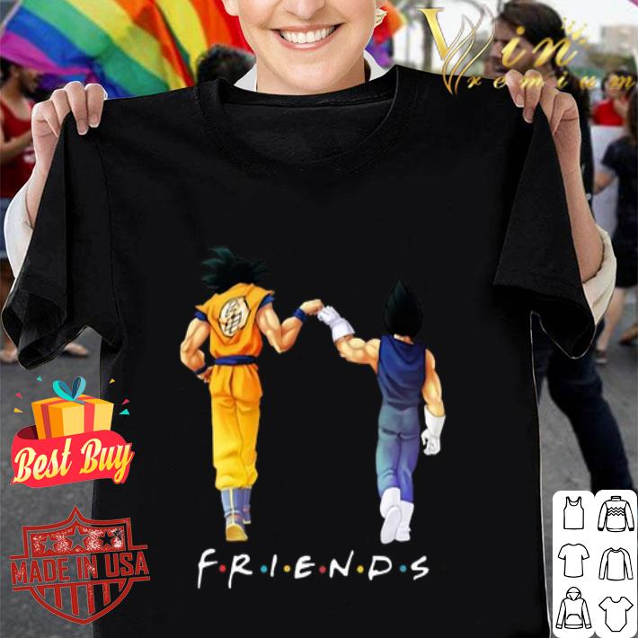 Friends Son Goku and Vegeta shirt