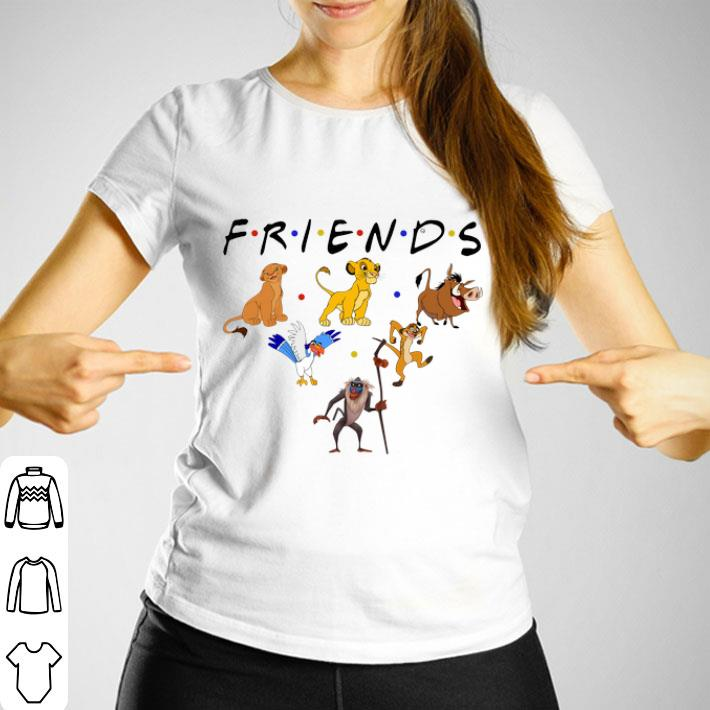 Friends The Lion King Characters shirt