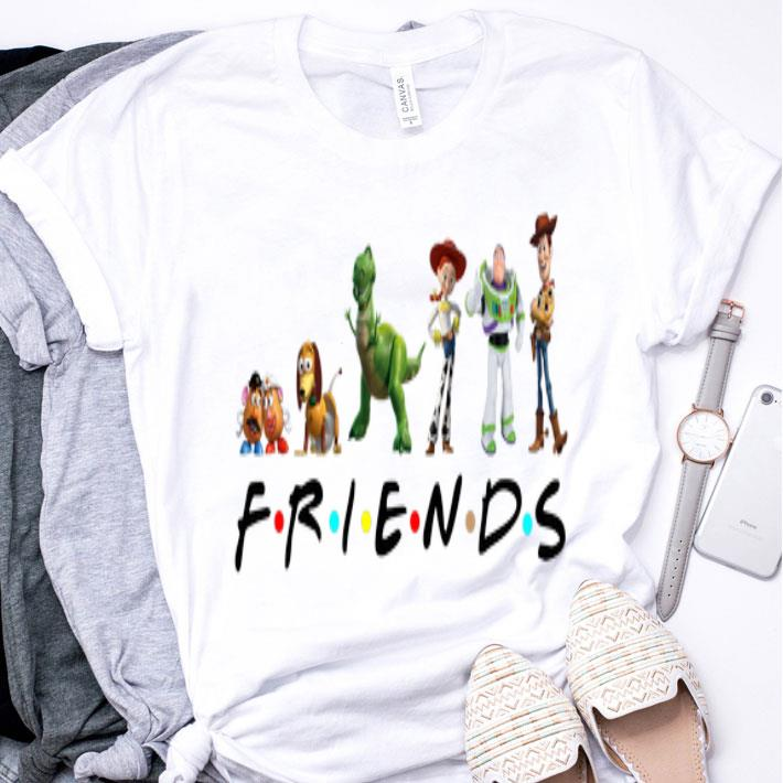 Friends Toy Story 4 characters shirt