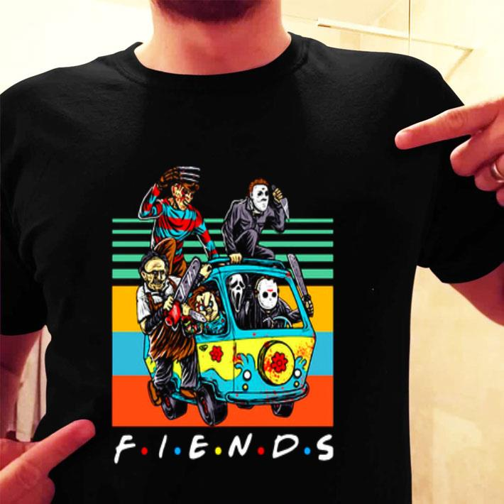 Friends characters Horror movies vintage shirt