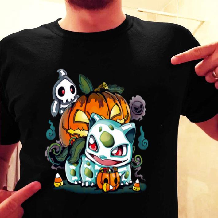 Fushigidane Dia De Los Bulbos Halloween shirt