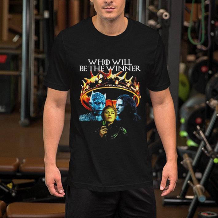 GOT Who Will Be The Winner Night King Cersei Lannister Jon Snow shirt 2