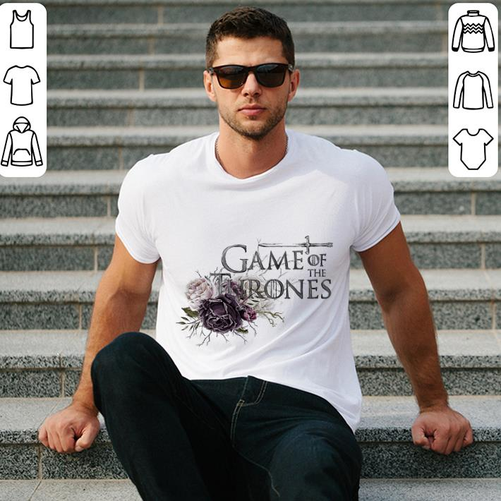 Game Of The Thrones flowers shirt