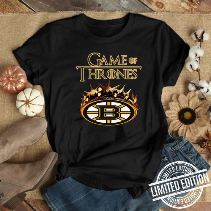 Game of Thrones Crown Boston Bruins shirt 1