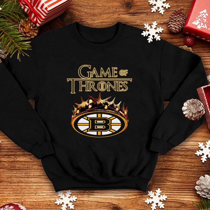 Game of Thrones Crown Boston Bruins shirt