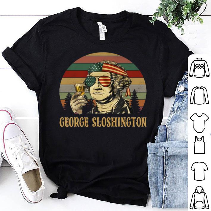 George Washington George Sloshington sunset shirt