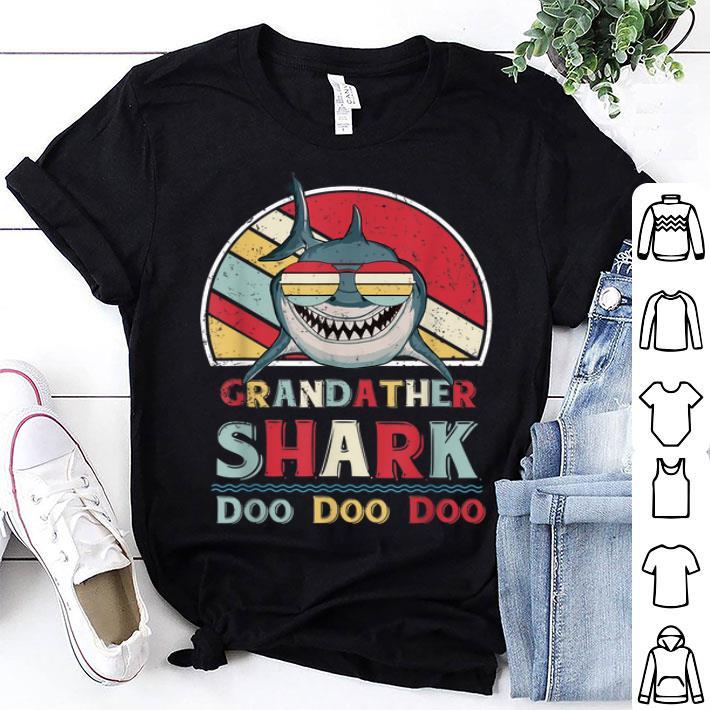 Grandfather Shark Doo Doo DooBest Fathers Day shirt