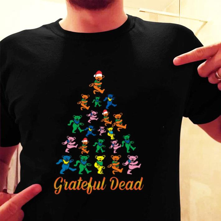 Grateful Dead Christmas tree shirt
