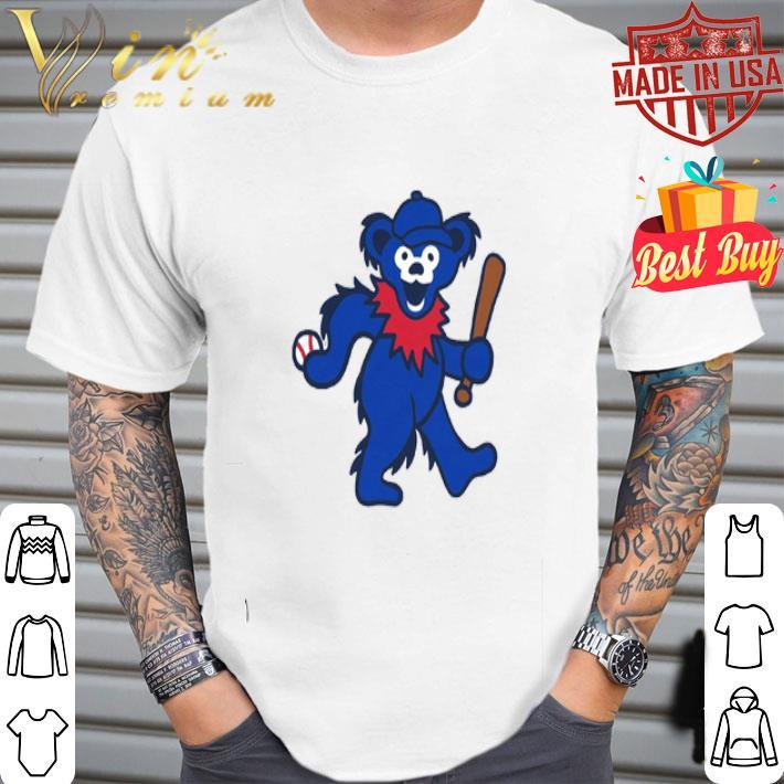 grateful dead dancing bear baseball shirt hoodie sweater